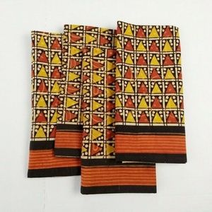 Other - Pier 1 Imports Cotton Napkins Batik Cloth Square